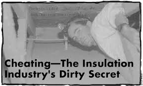 Insulating Cathedral Ceilings Rockwool by Home Energy Magazine Cheating The Insulation Industry U0027s Dirty