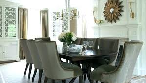 Transitional Dining Room Sets Chairs Elegant For Taupe Furniture Style