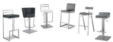 chaises hautes de cuisine tabouret de bar et de cuisine à hauteur réglable mobilier moss