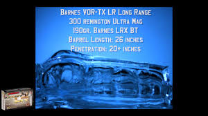 Barnes VOR-TX LR Ammunition: 300 Remington Ultra Mag 190gr LRX ... Any Differences Between Barnes 62gr Vortx And Black Hills Tsx Newest Additions To The Ammunition Line Guns Gear 357 Magnum Ammo For Sale 140 Gr Xpb Hollow Point 20 Rounds Of Bulk 308 Win By 130gr Ttsx Win Vortx Ballistic Gel Test Youtube 300 Blackout Killer Page 4 Survivalist Forum Winchester Power Intpower Maxbarnes Part 2 Bullet Premium 338 Lapua Mag 280 Grain Lrx Bt 270 Wsm Tsxbt 223789 200 150gr 223 55gr