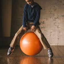Gaiam Classic Balance Ball Chair Charcoal by Gaiam Ca Balance Balls