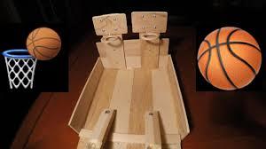 DIY TABLE BASKETBALL GAME