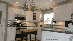 Kitchen Soffit Decorating Ideas by Forever Decorating Dramatic Kitchen Make Over