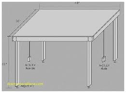 standard kitchen table dimensions unique standard dining room