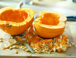 Toasting Pumpkin Seeds In The Oven by How To Roast A Pumpkin The Easy Way Elana U0027s Pantry