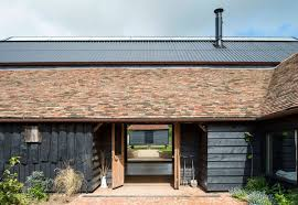 100 Modern Barn Conversion London Puts Reclaimed Materials To Good Use
