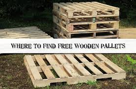 Where To Find Free Wooden Pallets