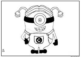 Minions Coloring Pages 04