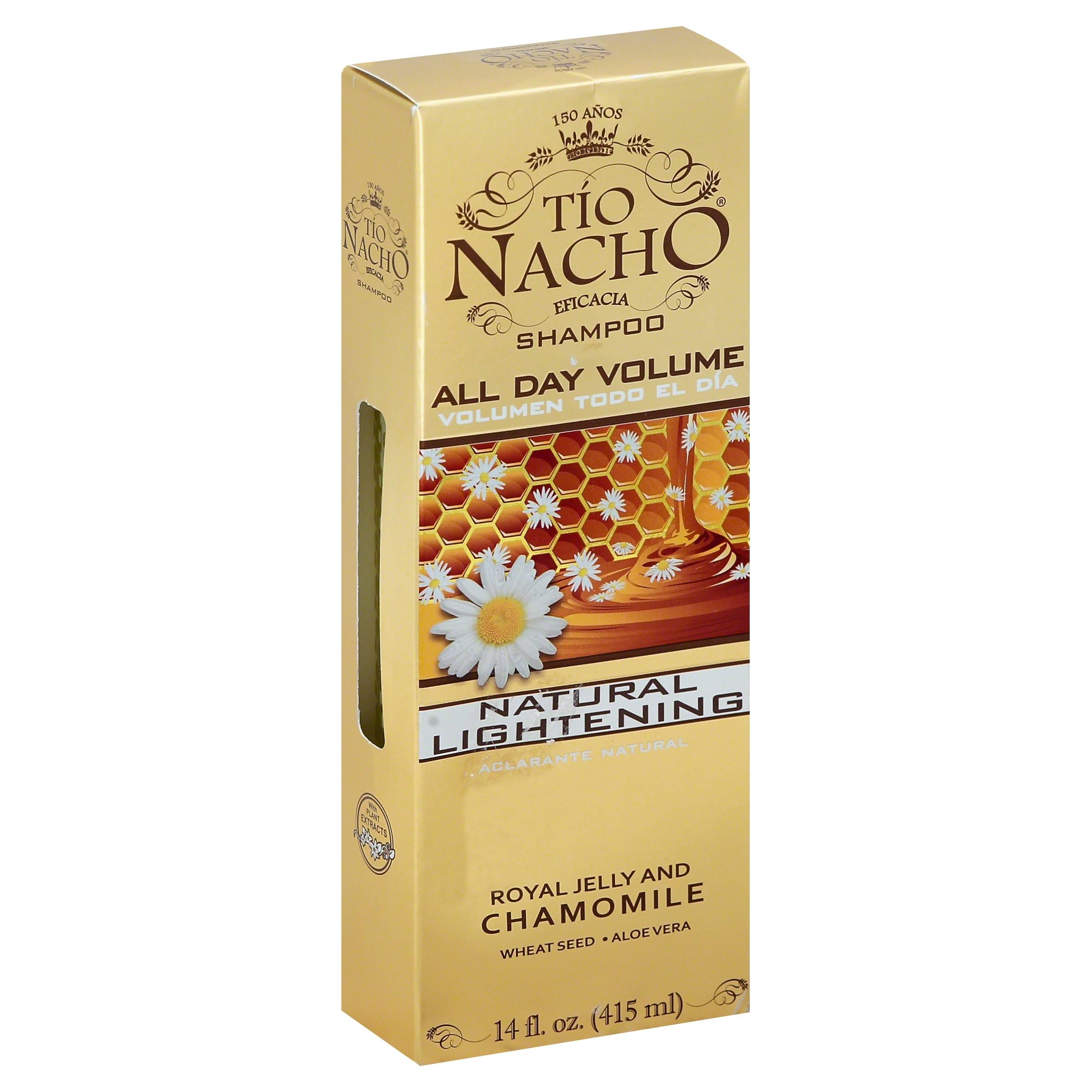 Tío Nacho Royal Jelly and Chamomile Shampoo - 14oz
