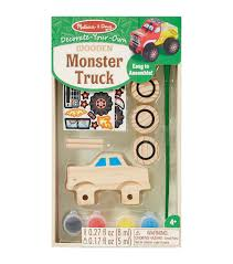 Melissa & Doug Decorate-Your-Own Wooden Kit-Monster Truck | JOANN Melissa Doug Big Truck Building Set Aaa What Animal Rescue Shapesorting Alphabet What 2 Buy 4 Kids And Wooden Safari Carterscom 12759 Mega Racecar Carrier Tractor Fire Indoor Corrugate Cboard Playhouse Food Personalized Miles Kimball Floor Puzzle 24 Piece Beep Cars Trucks Jigsaw Toy Toys For 1224 Month Classic Wood Radar