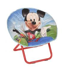 Childrens Rocking Chairs At Walmart by Mickey Mouse Mini Collapsible U0026nbsp Saucer Chair Walmart Com
