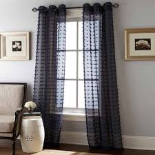 Jcpenney Sheer Grommet Curtains by Payton 2pk 2 Pack Grommet Top Sheer Curtain Panel Jcpenney
