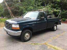 100 Long Bed Truck Lot 1994 FORD F150XL 4WD REGULAR CAB LONG BED TRUCK 38909 MILES