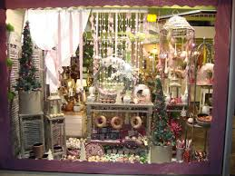 vitrine fete des meres fleuriste maître artisan fleuriste vitrine de noël