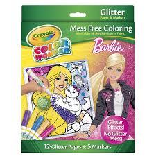 Crayola Color Wonder Mess Free Glitter Coloring Set