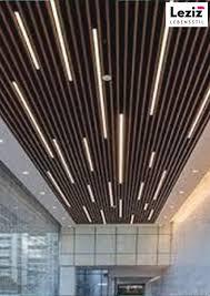 moderne led streifen decke licht design decken