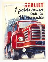 100 Les Cars And Trucks Affiche Berliet Poste Sur Facebook Par Renault Deliver