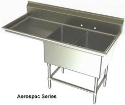two compartments sinks nsf sinks stainless steel sink utility