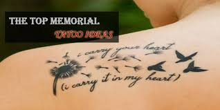 The Top Memorial Tattoo Designs We Could Find