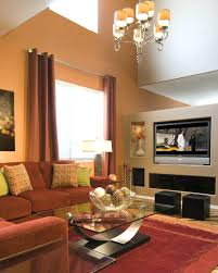Best Colors For Living Room Accent Wall by Brown Paint For Living Room U2013 Alternatux Com