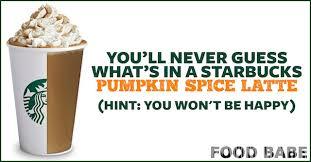 Dunkin Donuts Pumpkin Spice Syrup Vegan by You U0027ll Never Guess What U0027s In A Starbucks Pumpkin Spice Latte Hint