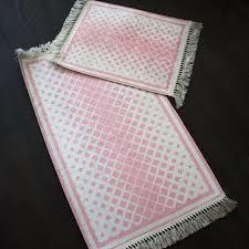 badezimmer garnitur teppich 2 teillig 60x50 100 x 60 cm