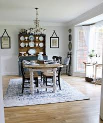 A Budget Friendly Dining Room Makeover