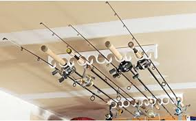 inspirational ceiling mount fishing rod holders 85 with additional