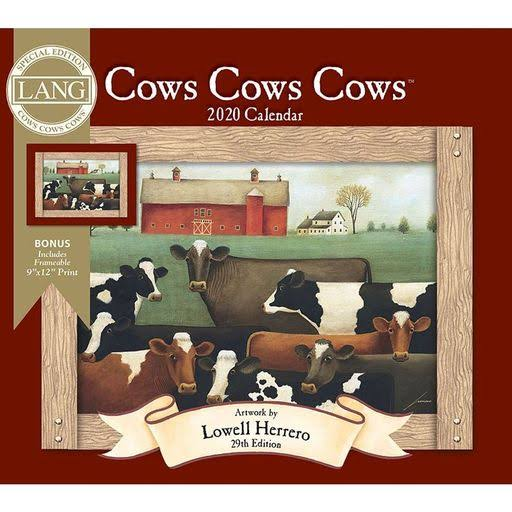 Lang Cows Cows Cows Special Edition 2020 Wall Calendars