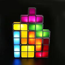Tetris Stackable Led Desk Lamp India by Tetris Light Ebay