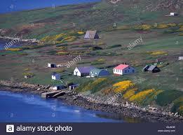 100 Antartica Houses Antarctica SubAntarctic Islands South Georgia Small Houses Stock