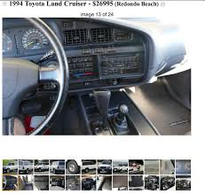 Craigslist - [CA] 1 Owner 70k Mile 3x Locked White FZJ80 Unicorn ... Fancy Craigslist Albany Cars By Owner Vignette Classic Ideas Car Parts Superfly Autos Tasure Coast Best Car 2017 And Trucks Of Triumph Box Sheds Light On Li Motor Parkway Worlds First Highway For Sale Maryland 36999042jpg Fniture Sofas 1990 Ford E350 Camper In Sparta Missouri Tampa Youtube Ironman Western Australia