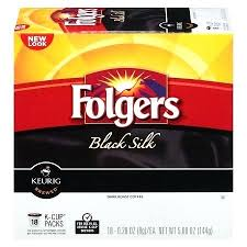 Black Silk Coffee K Pods Calories In Folgers