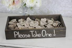 Modern Rustic Wedding Decorations Cheap With Favors Wood Heart Magnets Inside By