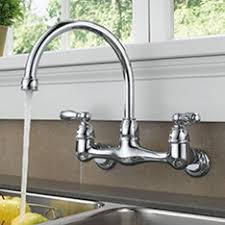 Wall Mounted Kitchen Faucet With Soap Dish by Shop Kitchen Faucets U0026 Water Dispensers At Lowes Com