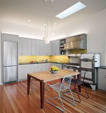 Amazing Yellow And Gray Kitchen Ideas Mosaic Backsplash Medium