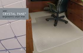 Es Robbins Everlife Chair Mat by Crystal Pane Ergonomic Chair Mats Es Robbins Office Products