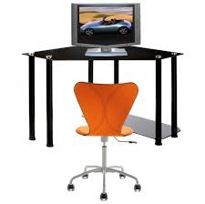 Office Chair Walmart Black Friday by Furniture Cool Black Computer Desk With Glass Top And Side Holder