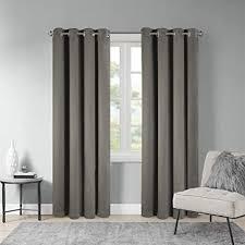 scm vorhang blickdicht ösen gardinen ösenschal gardine schlafzimmer dekoschals wohnzimmer alberta 1er set 245x140cm