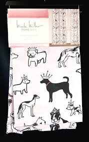 Nicole Miller Home Two Curtain Panels by Nicole Miller Kids Window Panels Curtains Pink Dogs Two 50x96