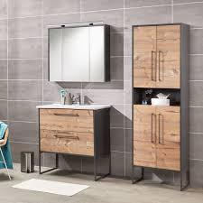 badezimmer hochschrank living style anthrazit