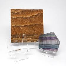 Display Stand Rock Mineral