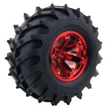 100 Monster Truck Wheels Amazoncom 4PCS 110 RC Wheel And Tire Set LAFEINA