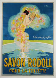 Savon Rodoll Pour La Toilette Original French Soap Advertisement
