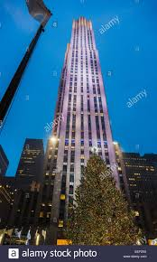 Rockefeller Plaza Christmas Tree Lighting 2017 by Rockefeller Center Christmas Tree Stock Photos U0026 Rockefeller