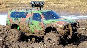 100 Monster Trucks In Mud Videos Stuck Tamiya Ford F Rc Adventures