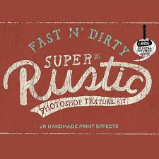 Fast N Dirty Super Rustic Photoshop Texture Kit By Simon Stratford