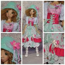 OOAK Handmade Outfit For Nelly SD BJD By Kaye Wiggshandmade By