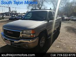 Used 2005 GMC Sierra 1500 For Sale In Colorado Springs, CO 80903 ...