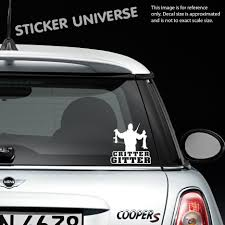 Car Styling For CRITTER GITTER Cool Vinyl Die Cut Decal Sticker ...